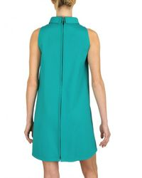 Gianluca Capannolo - Green A-line Stretch Cotton Dress - Lyst