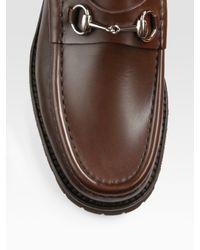 Gucci | Brown Loafer for Men | Lyst