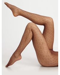 Wolford | Natural Diamant Tights | Lyst