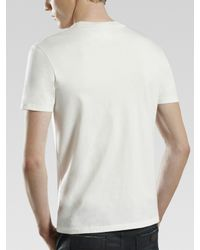 Gucci - White G-check Print Tee for Men - Lyst