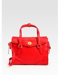 Marc By Marc Jacobs - Red Kitty St. James Satchel - Lyst