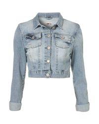 TOPSHOP | Blue Embroidered Denim Vest By Kuccia | Lyst