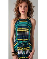 Shoshanna | Multicolor Cassie Striped Maxi Dress | Lyst