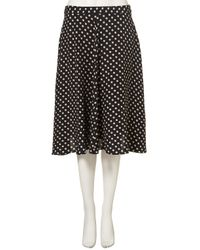 TOPSHOP | Blue Small Spot Circle Skirt | Lyst