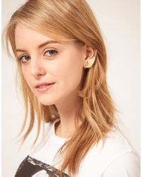 ASOS Collection - Metallic Asos Wings Star Ear Cuff - Lyst