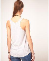 DIESEL - White Cube Printed Vest - Lyst