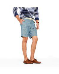 J.Crew | Blue Stanton Short in Chambray for Men | Lyst
