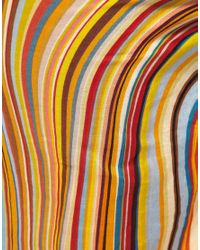Paul Smith - Multicolor Sarong With Swirl Print - Lyst