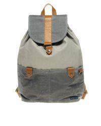 Ted Baker - Gray Backpack for Men - Lyst