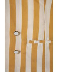 TOPSHOP | Yellow Co-Ord Stripe Fluid Blazer | Lyst