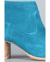 DV by Dolce Vita - Blue The Jamison Boot In Teal Suede - Lyst