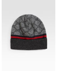 Gucci - Gray Arwin Hat for Men - Lyst