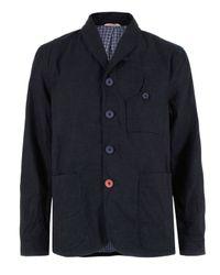 Oliver Spencer | Denim Blue Signalman Jacket for Men | Lyst