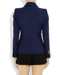 By Malene Birger | Blue Karam Twill Blazer | Lyst