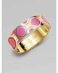 kate spade new york | Multicolor Geometric Bangle Bracelet | Lyst