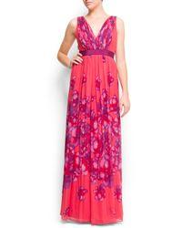 Mango | Pink Maxi Dress | Lyst