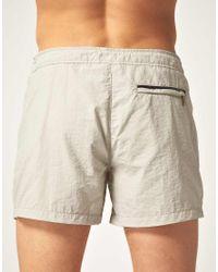 Paul Smith - Natural Short Slim Swim Shorts for Men - Lyst