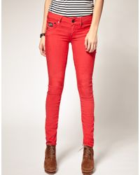 G-Star RAW | Arc Coloured Skinny Jeans | Lyst