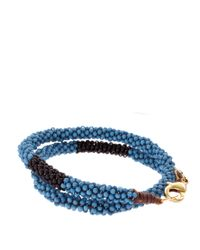 ASOS | Blue Fuji Bracelet for Men | Lyst