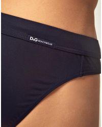 Dolce & Gabbana | Blue D&g Swim Trunk for Men | Lyst