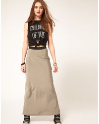 ASOS Collection | Natural Asos Maxi Skirt in Bias Cut | Lyst