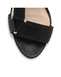 Loeffler Randall - Black Reba Velcro Sandal - Lyst