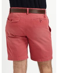 Polo Ralph Lauren | Red Chino Officers Shorts for Men | Lyst