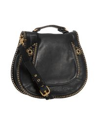 Rebecca Minkoff | Black Leather Vanity Crossbody Bag | Lyst