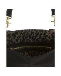 Rebecca Minkoff | Black Leather Vanity Crossbody Bag | Lyst