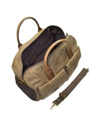 Fossil   Wagner - Brown Canvas Duffle Bag for Men   Lyst