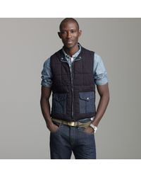 J.Crew | Blue Mister Freedom® Midnight Chiller Vest for Men | Lyst