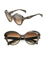 Prada | Blue Baroque Sunglasses | Lyst