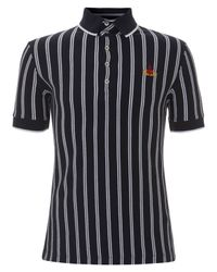 Vivienne Westwood | Blue Navy Referee Stripe Polo Shirt for Men | Lyst