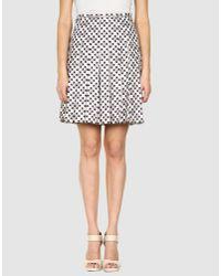 Marc Jacobs   Pink Knee Length Skirt   Lyst