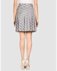 Marc Jacobs | Pink Knee Length Skirt | Lyst
