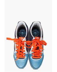 DIESEL - Blue Aramis Sneakers for Men - Lyst