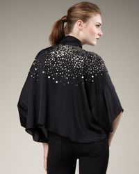 Elizabeth and James | Black Satya Sequined Jacket | Lyst