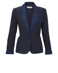 French Connection | Blue Rebecca Sharp Jacket | Lyst