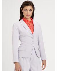Nanette Lepore | Purple Prep School Jacket | Lyst