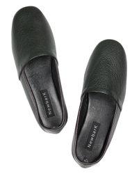 Newbark - Green Flor Leather Shoes - Lyst