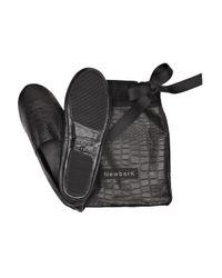 Newbark - Brown Devon Crocodile-effect Shoes - Lyst