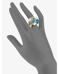 Ippolita - Metallic Quartz Multicolor Sterling Silver Ring - Lyst