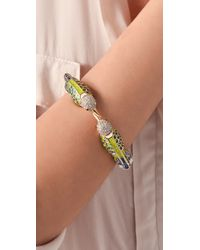 Juicy Couture - Multicolor Hummingbird Bracelet - Lyst