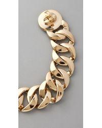 Marc By Marc Jacobs | Metallic Katie Turnlock Bracelet/rose Goldtone | Lyst