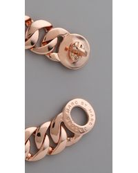 Marc By Marc Jacobs - Pink Classic Marc Turnlock Katie Bracelet - Lyst