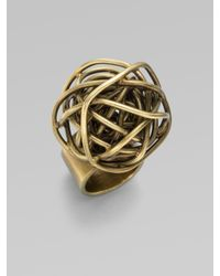 Kelly Wearstler | Metallic Knot Ring | Lyst
