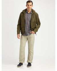 Michael Kors - Green Double-layer Jacket for Men - Lyst