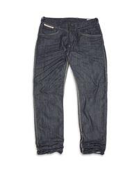 DIESEL | Blue Fraceex Straight Leg Jeans for Men | Lyst