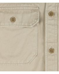 AllSaints | Natural Convoy L/s Shirt for Men | Lyst