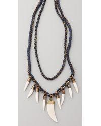 Antik Batik - Blue Kori Necklace - Lyst